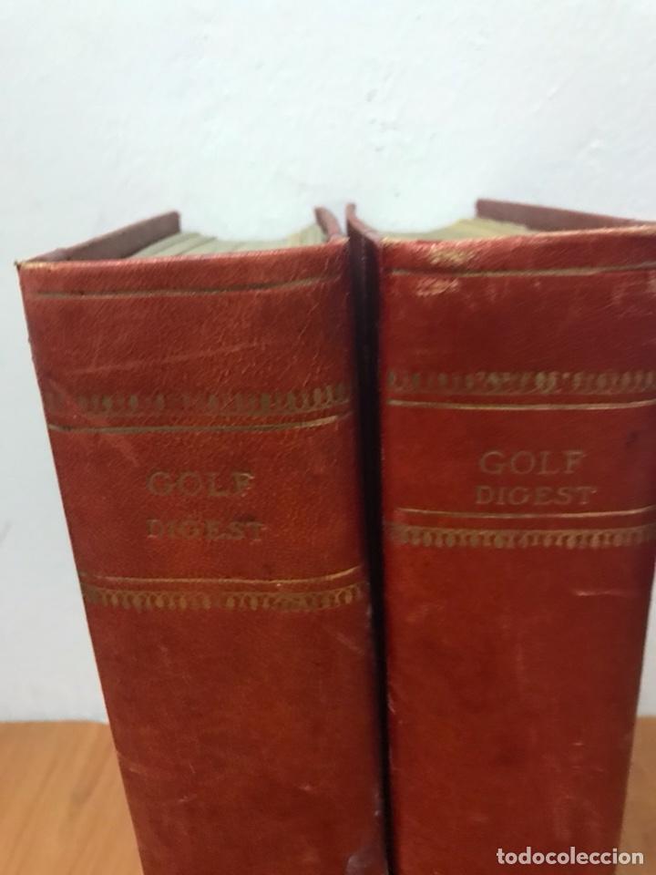 Coleccionismo deportivo: Antiguos libros encuadernados Golf digest 1981 , 1982 - Foto 2 - 130012972