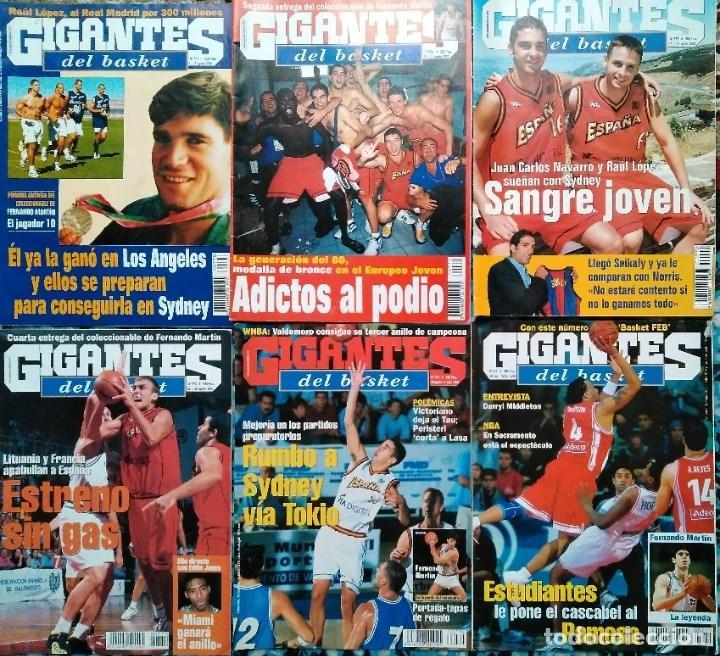 FERNANDO MARTÍN - COLECCIONABLE DE ''GIGANTES'' (2000) + MUERTE (1989) + OTRAS (Coleccionismo Deportivo - Revistas y Periódicos - otros Deportes)