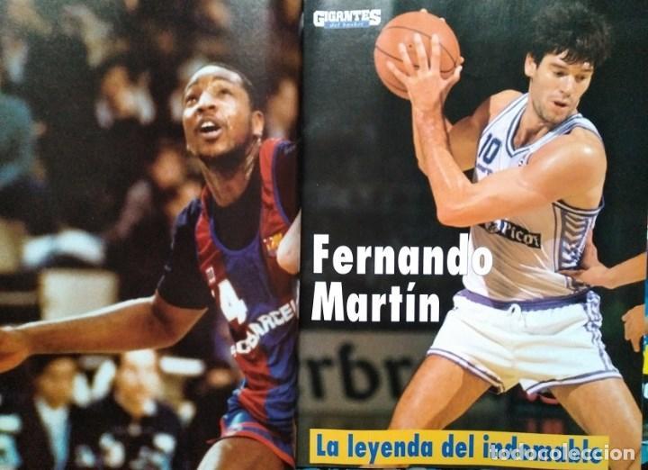 Coleccionismo deportivo: Fernando Martín - Coleccionable de Gigantes (2000) + Muerte (1989) + otras - Foto 2 - 130140043