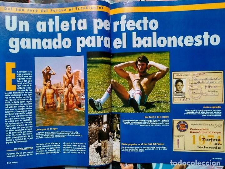 Coleccionismo deportivo: Fernando Martín - Coleccionable de Gigantes (2000) + Muerte (1989) + otras - Foto 5 - 130140043