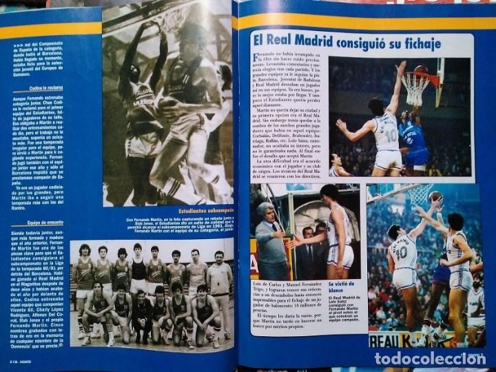Coleccionismo deportivo: Fernando Martín - Coleccionable de Gigantes (2000) + Muerte (1989) + otras - Foto 6 - 130140043