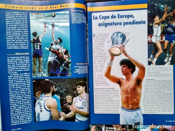 Coleccionismo deportivo: Fernando Martín - Coleccionable de Gigantes (2000) + Muerte (1989) + otras - Foto 8 - 130140043