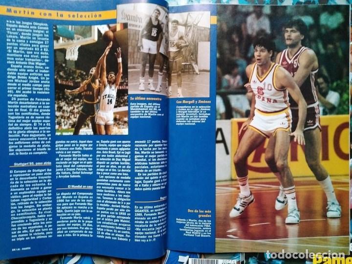 Coleccionismo deportivo: Fernando Martín - Coleccionable de Gigantes (2000) + Muerte (1989) + otras - Foto 12 - 130140043