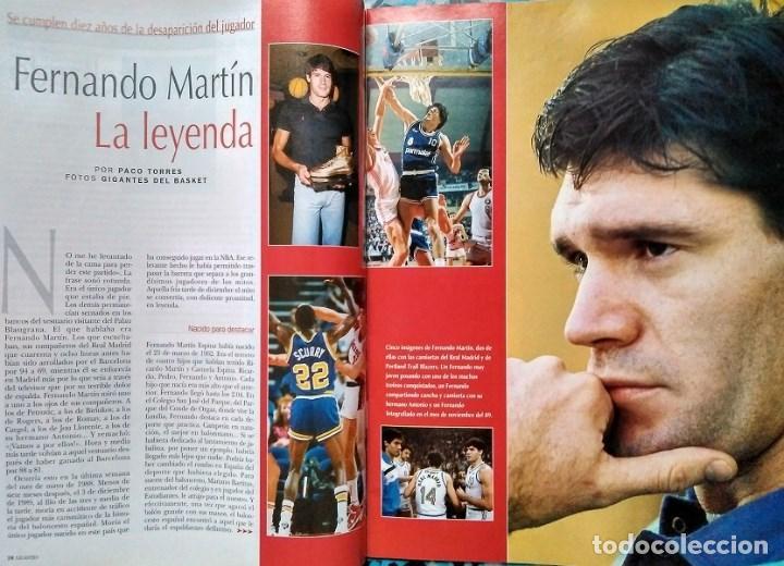 Coleccionismo deportivo: Fernando Martín - Coleccionable de Gigantes (2000) + Muerte (1989) + otras - Foto 14 - 130140043