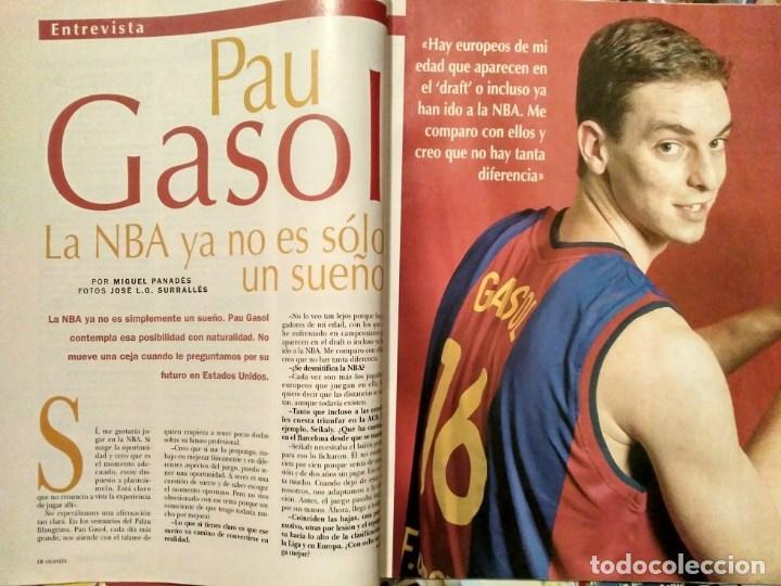 Coleccionismo deportivo: Pau Gasol - 17 revistas Gigantes del Basket y Revista Oficial NBA (2000-2009) - NBA - Foto 3 - 130455458