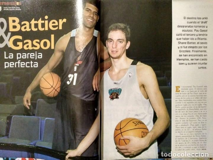 Coleccionismo deportivo: Pau Gasol - 17 revistas Gigantes del Basket y Revista Oficial NBA (2000-2009) - NBA - Foto 5 - 130455458
