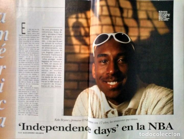 Coleccionismo deportivo: Kobe Bryant - 9 revistas ''Gigantes del basket'' (1997-2003) - NBA - Foto 2 - 130455462