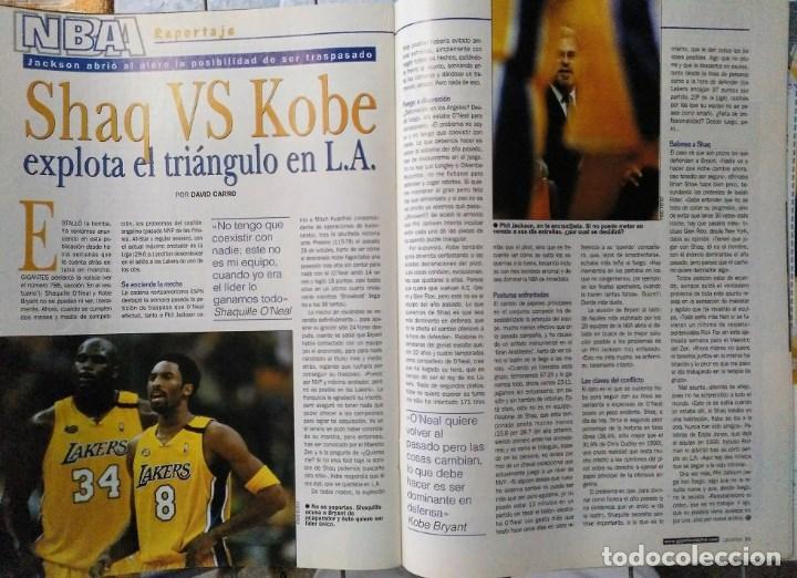 Coleccionismo deportivo: Kobe Bryant - 9 revistas ''Gigantes del basket'' (1997-2003) - NBA - Foto 7 - 130455462