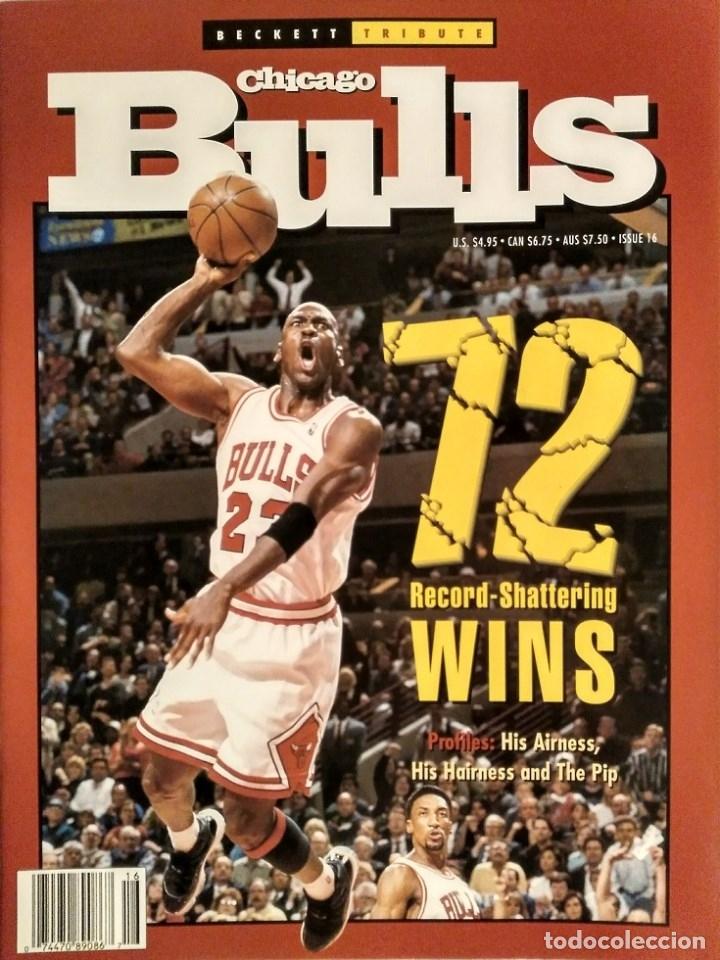 MICHAEL JORDAN - REVISTA ESPECIAL DE LA TEMPORADA DEL RÉCORD 72-10 (1996) - NBA (Coleccionismo Deportivo - Revistas y Periódicos - otros Deportes)