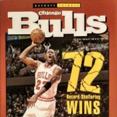 Coleccionismo deportivo: MICHAEL JORDAN - REVISTA ESPECIAL DE LA TEMPORADA DEL RÉCORD 72-10 (1996) - NBA. Lote 130642782