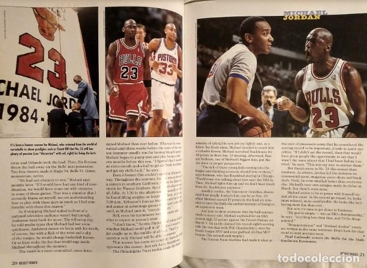 Coleccionismo deportivo: Michael Jordan - Revista especial de la temporada del récord 72-10 (1996) - NBA - Foto 4 - 130642782