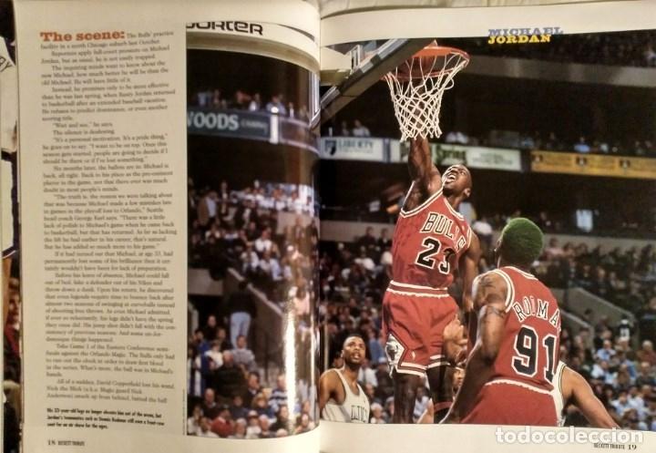 Coleccionismo deportivo: Michael Jordan - Revista especial de la temporada del récord 72-10 (1996) - NBA - Foto 5 - 130642782