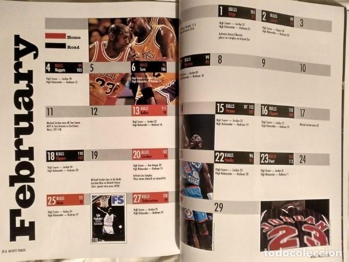 Coleccionismo deportivo: Michael Jordan - Revista especial de la temporada del récord 72-10 (1996) - NBA - Foto 6 - 130642782