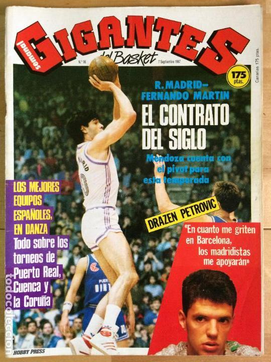 REVISTA BALONCESTO GIGANTES DEL BASKET Nº 96 (Coleccionismo Deportivo - Revistas y Periódicos - otros Deportes)