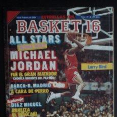 Coleccionismo deportivo: REVISTAS ESTRELLAS DEL BASKET 16, Nº: 19,22,24,32,35. Lote 131914614