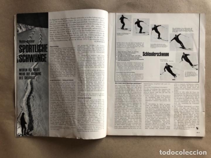 Coleccionismo deportivo: ALPINISMUS, ABRIL 1970. REVISTA DE ALPINISMO ALEMANA. - Foto 3 - 132109798