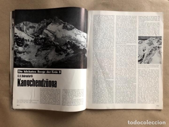 Coleccionismo deportivo: ALPINISMUS, ABRIL 1970. REVISTA DE ALPINISMO ALEMANA. - Foto 4 - 132109798