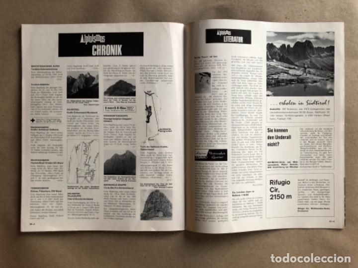 Coleccionismo deportivo: ALPINISMUS, ABRIL 1970. REVISTA DE ALPINISMO ALEMANA. - Foto 6 - 132109798
