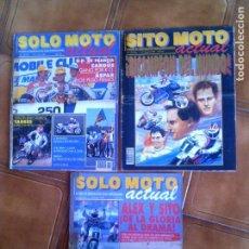 Coleccionismo deportivo: LOTE DE REVISTAS SOLO MOTO N,682,692, 689 DE 1989. Lote 132188962