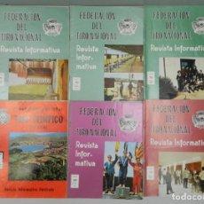 Coleccionismo deportivo: REVISTA INFORMATIVA DE LA FEDERACIÓN DE TIRO NACIONAL - 6 UND.. Lote 132338874