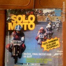 Coleccionismo deportivo: REVISTA SOLO MOTO N, 213 DE NOVIEMBRE DE 1979. Lote 132795690