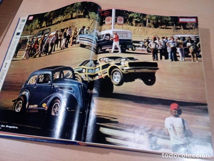 Coleccionismo deportivo: revista autopista - lote 17 revistas 1973 correlativas encuadernadas- ver fotos - leer - Foto 4 - 132977890