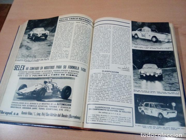 Coleccionismo deportivo: revista autopista - lote 17 revistas 1973 correlativas encuadernadas- ver fotos - leer - Foto 8 - 132977890