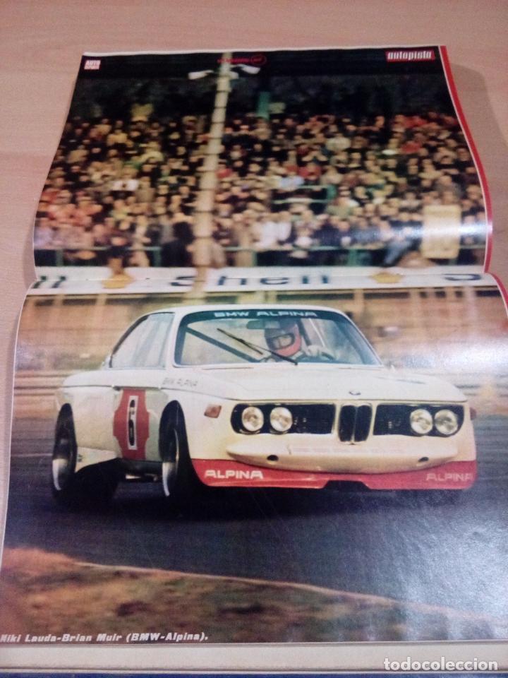 Coleccionismo deportivo: revista autopista - lote 17 revistas 1973 correlativas encuadernadas- ver fotos - leer - Foto 9 - 132977890
