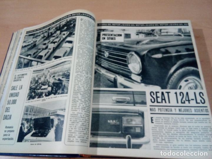 Coleccionismo deportivo: revista autopista - lote 17 revistas 1973 correlativas encuadernadas- ver fotos - leer - Foto 10 - 132977890