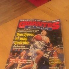Coleccionismo deportivo: REVISTA GIGANTES DEL BASKET BALONCESTO NÚMERO 793 2001 DJORJEVIC NBA. Lote 133168543