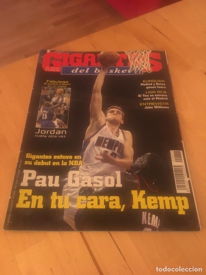 magasin d'usine 4ecd3 d245e Revista gigantes del basket baloncesto número 833 gasol Jordan nba
