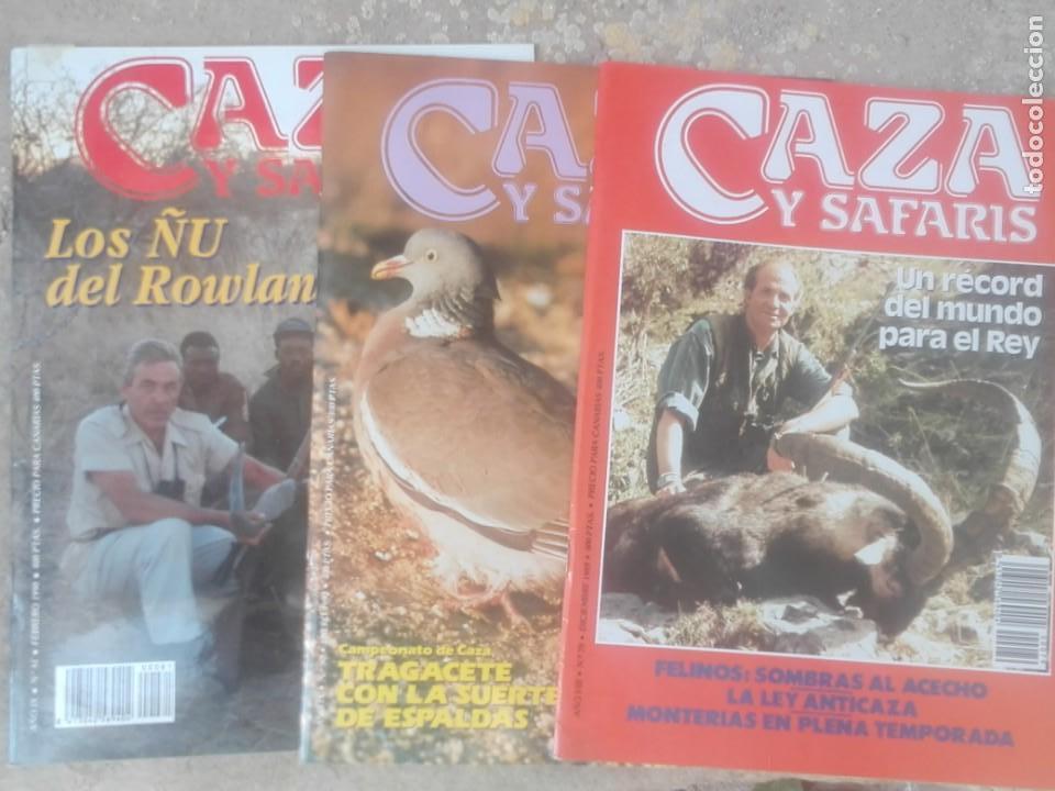 REVISTAS CAZA (Coleccionismo Deportivo - Revistas y Periódicos - otros Deportes)