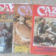 Coleccionismo deportivo: REVISTAS CAZA. Lote 133306922