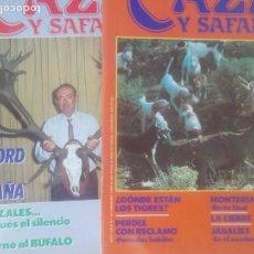 Coleccionismo deportivo: REVISTAS CAZA. Lote 133517566