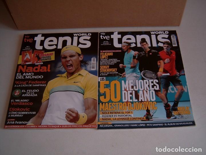 COLECCION REVISTAS TENIS WORLD (Coleccionismo Deportivo - Revistas y Periódicos - otros Deportes)