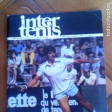 Coleccionismo deportivo: REVISTA INTER TENIS N,36 JUNIO DE 1975. Lote 134066386