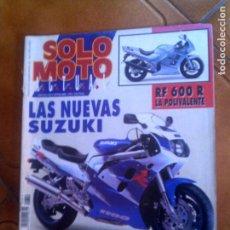 Coleccionismo deportivo: REVISTA SOLO MOTO ACTUAL N,849 DEL AÑO 1992. Lote 134066666