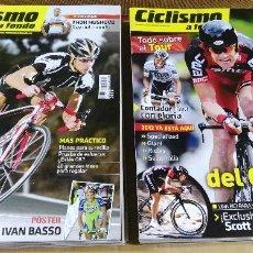 Coleccionismo deportivo: CICLISMO A FONDO. REVISTA. 12 NÚMEROS DE 2011. DE ENERO A DICIEMBRE. . Lote 134095418