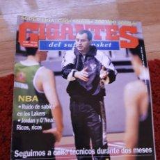 Coleccionismo deportivo: GIGANTES DEL BASKET 580 JORDAN 1996. Lote 134711735