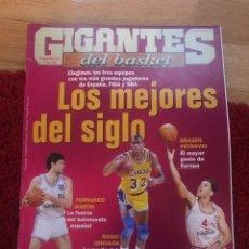 Coleccionismo deportivo: GIGANTES DEL BASKET 792 JORDAN 2001. Lote 134715271