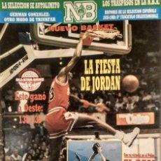 Coleccionismo deportivo: MICHAEL JORDAN - REVISTA ''NUEVO BASKET'' - ALL STAR DE 1988 - NBA. Lote 134719030