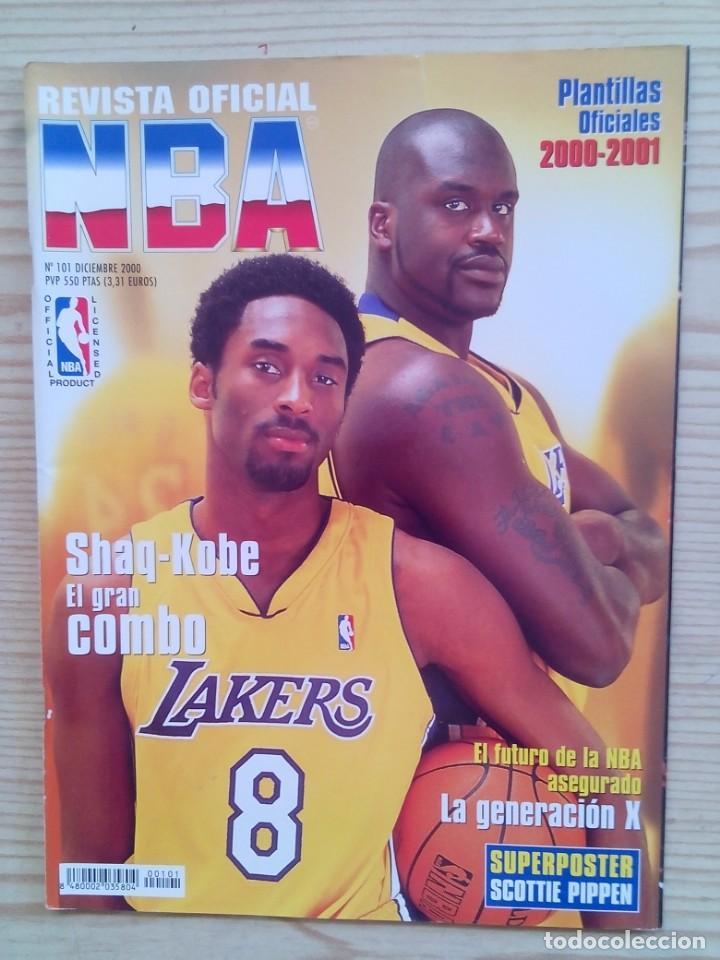 REVISTA BALONCESTO NBA - NUMERO 101 (Coleccionismo Deportivo - Revistas y Periódicos - otros Deportes)