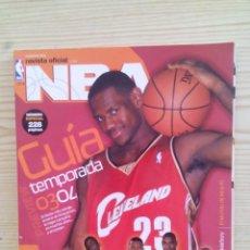 Coleccionismo deportivo: REVISTA BALONCESTO NBA - NUMERO 135. Lote 134787122