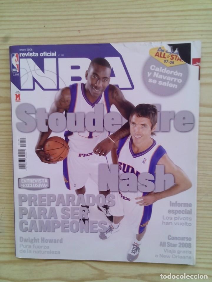REVISTA BALONCESTO NBA - NUMERO 185 (Coleccionismo Deportivo - Revistas y Periódicos - otros Deportes)