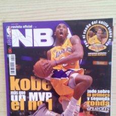 Coleccionismo deportivo: REVISTA BALONCESTO NBA - NUMERO 190. Lote 134787910