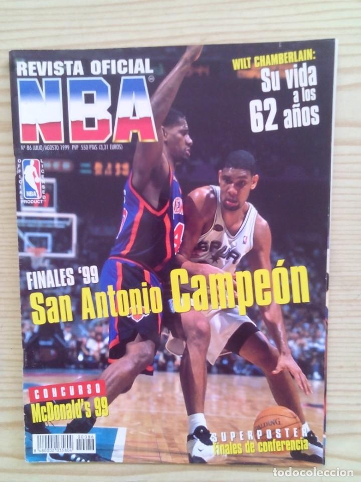 REVISTA BALONCESTO NBA - NUMERO 86 (Coleccionismo Deportivo - Revistas y Periódicos - otros Deportes)