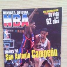 Coleccionismo deportivo: REVISTA BALONCESTO NBA - NUMERO 86. Lote 134788142