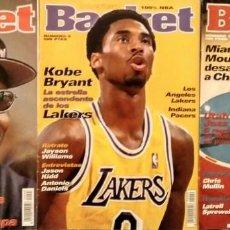 Coleccionismo deportivo: MICHAEL JORDAN & KOBE BRYANT - TRES REVISTAS ''AMERICAN BASKET'' (1997-1998). Lote 134877102