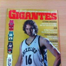 Coleccionismo deportivo: REVISTA GIGANTES DEL BASKET, Nº 1109, FEBRERO 2007: PAU GASOL EN LA NBA. Lote 58349651