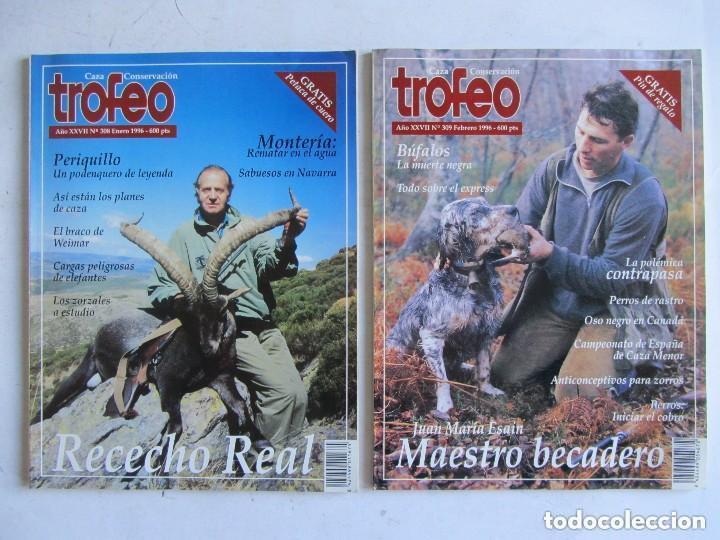 Coleccionismo deportivo: TROFEO. REVISTA CAZA, (PESCA, NATURALEZA) LOTE DE 69 EJEMPLARES ENTRE Nº 236 (1990) Y 331 (1997) VER - Foto 14 - 135812018